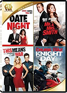 Amazon.com: Date Night / Mr and Mrs Smith / This Means War / Day and Knight Quad Feature: Brad