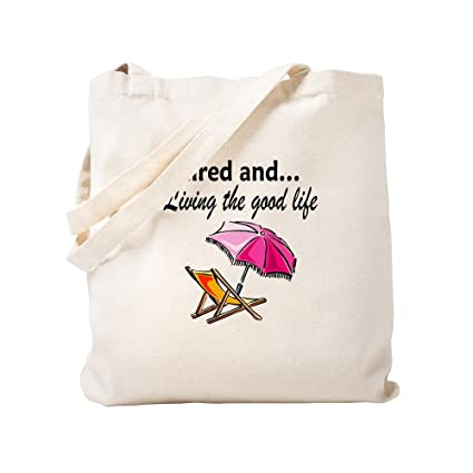 Amazon.com  CafePress - RETIREMENT - Natural Canvas Tote Bag af4c00be626c