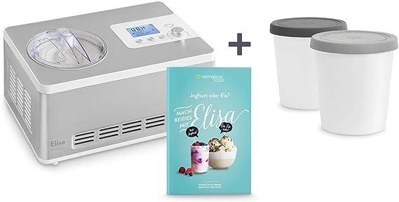 Heladera yogurtera 2 en 1 ELISA con compresor de refrigeración y ...