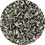 Springfield Leather Company's Nickel Plate Large Double Cap Rivets 1000pk