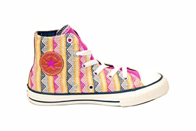 5baaccd7a1486 Converse Chuck Taylor All-star Camp Craft Enfant Rose 33