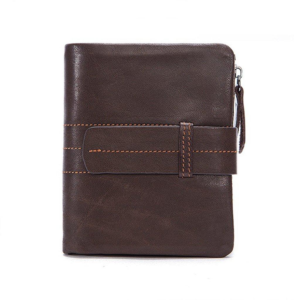 03676fa32ddda Sucastle Herren Herren Herren Leder Geldb ouml rsen Portemonnaie  Brieftasche RFID Schutz Gro szlig e Kapazit auml t Vintage Design
