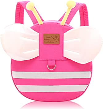 Cartoon Backpacks For Toddlers With Leash Preschool Backpack For Baby Girls