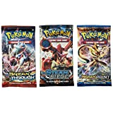 Pokemon TCG: 3 Booster Packs 30 Cards Total| Value Pack, 3 Blister Packs of Random Cards | Branded Pokemon Expansion Packs