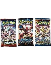 Pokemon TCG: 3 Booster Packs 30 Cards Total| Value Pack, 3 Blister Packs of Random Cards | Branded Pokemon Expansion Packs