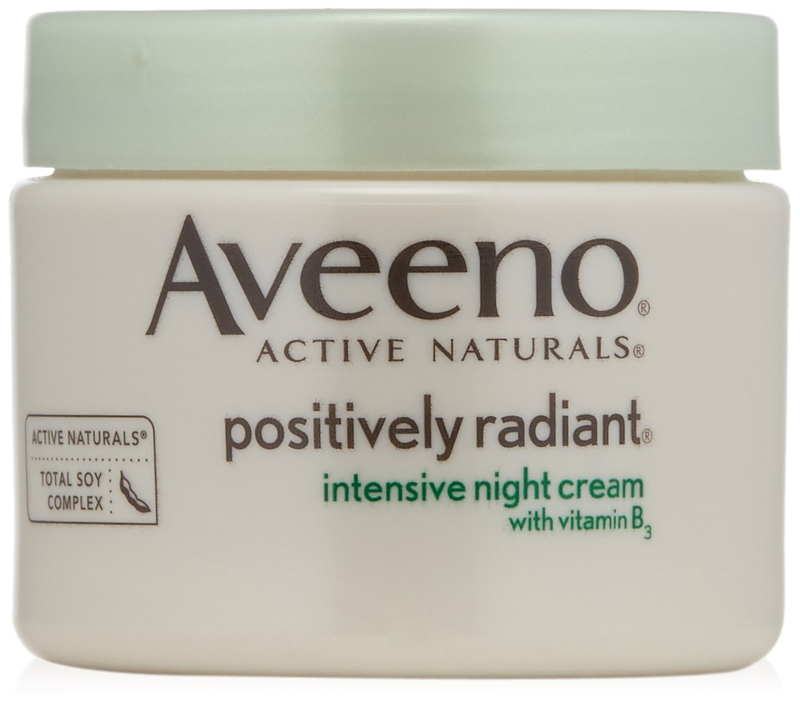 Aveeno Positively Radiant Intensive Night Cream 1.7 Ounce Sponsei Ave-2162