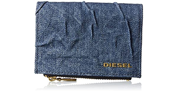 DIESEL X04356 P1222 DENIM MONEDEROS Mujer DENIM UNI: Amazon ...