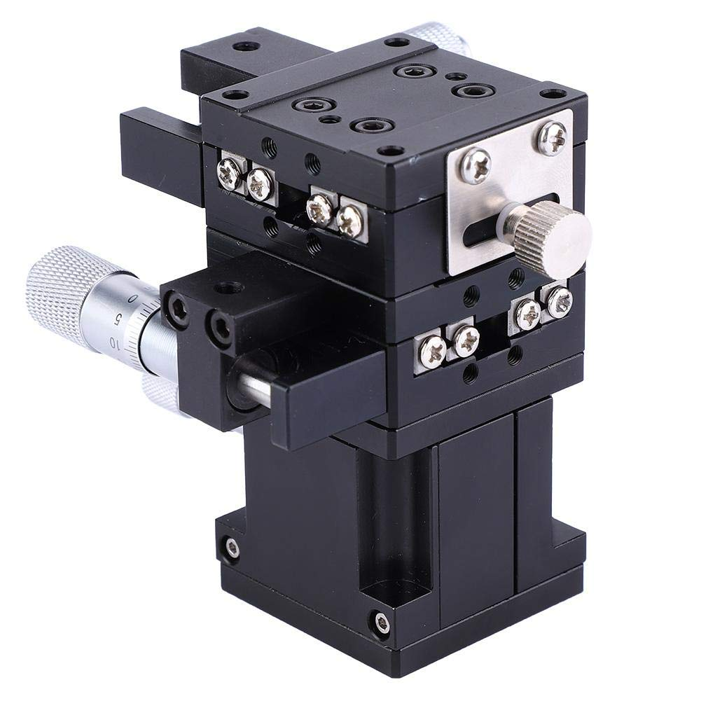 Linear Stage 40x40mm SEMXYZ-40 XYZ Trimming Platform Bearing Fine-Tuning Sliding Table