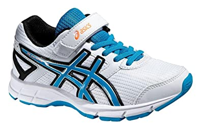 3edeafbb096fb ASICS Junior Pre Galaxy 8 PS Running Shoes - SS16 - J13  Amazon.co ...