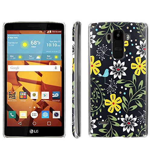 [ArmorXtreme] Phone Case for LG G Stylo LS770 / LG G4 Note Stylus / LG G Stylo H631 / MS631 [Clear] [Ultra Slim Cover Case] - [Flower Art] -  ArmorXtreme for LG G Stylo H631