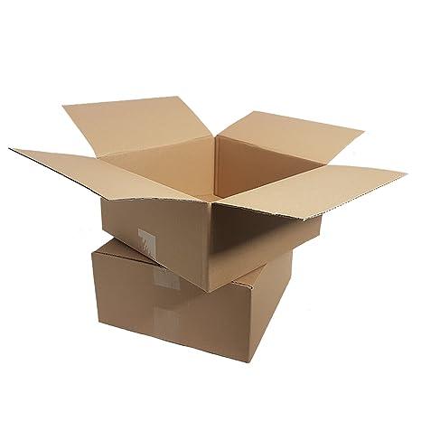 25 Kartons 300x215x140 mm Versand Schachtel Faltkarton DHL Cardboard Box