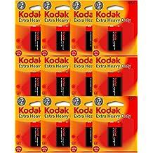 12 Kodak 9V Zinc Chloride Bulk Pack Batteries