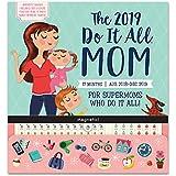 Orange Circle Studio 2019 Do It All Magnetic Wall Calendar, August 2018 - December 2019, Moms Do It All