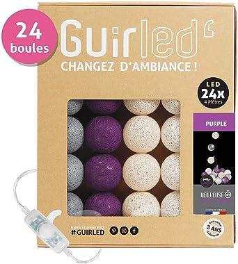 Guirnalda luminosa Bolas de algodón LED USB - Cargador USB dual 2A ...