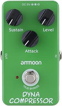 ammoon AP-05 Dinámica Compresor de Guitarra Efectos Pedal True ...