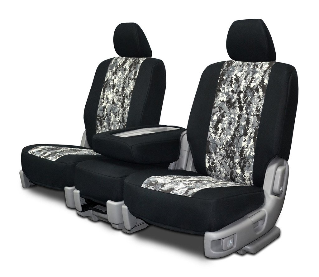 Custom Fit Seat Covers For Chevy Silverado 40 20 1942 Truck Style Neoprene Snow Camo Fabric Automotive