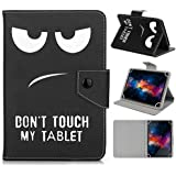 """Universal 10inch Tablet Case,Lenovo 10 inch Tablet Case,Lenovo 10""""Tablet Case,10.6"""" Fusion5 108 Tablet Case-Folio Fit Leather"""