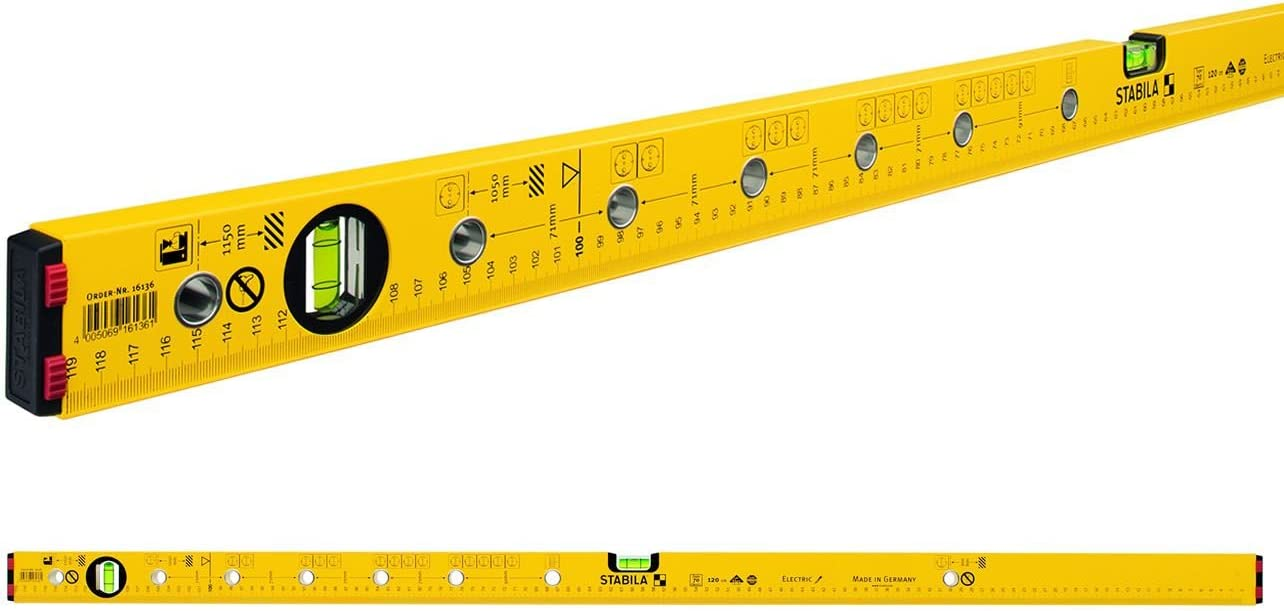 STABILA 02595 Type 82 S Bubble Level 60 cm