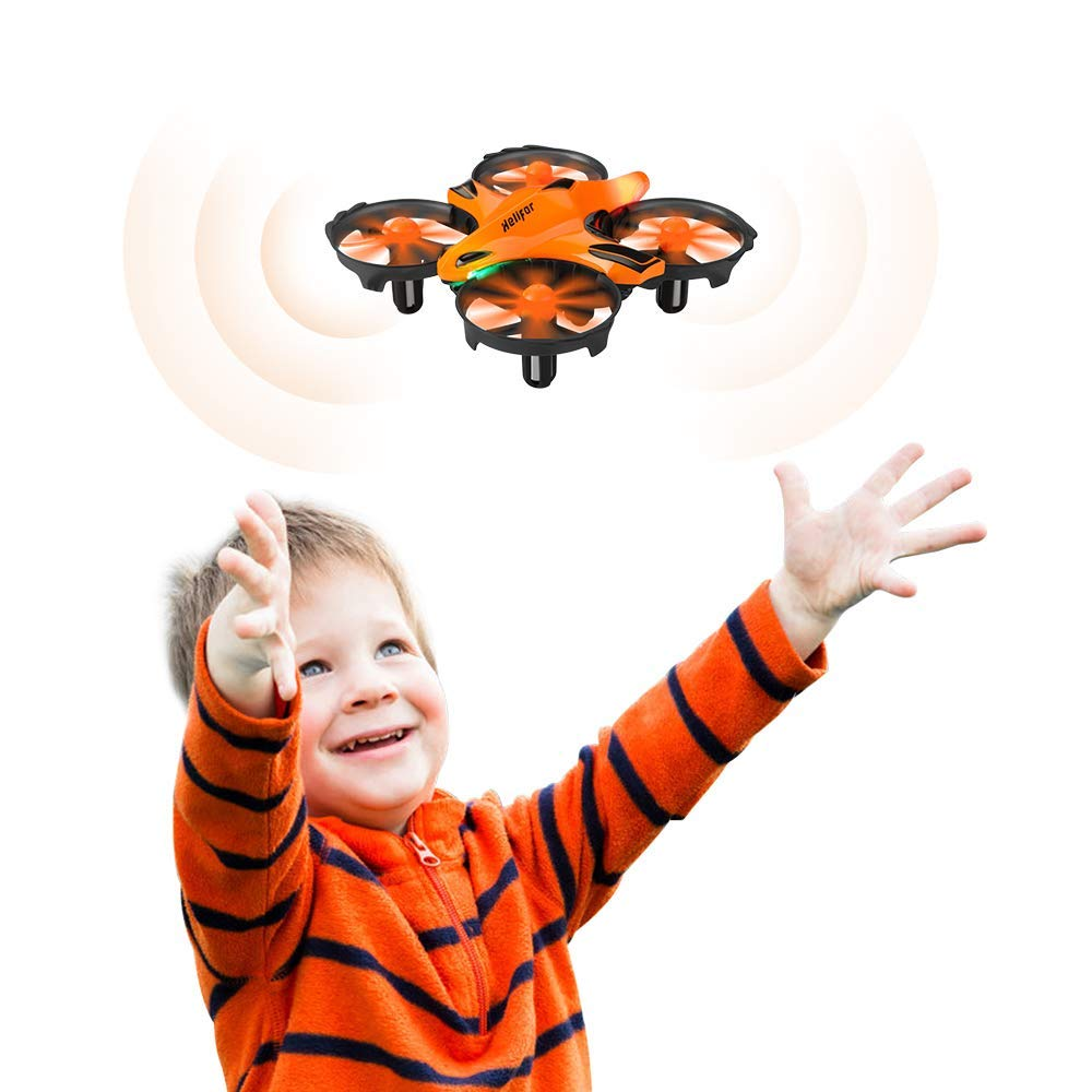 HELIFAR H803 Mini Drone RC Nano Quadcopter Best Drone for Enfants and Beginners RC Quadcopter with Infrarouge Obstacle Avoid, Throw to Fly, Altitude Hold, Toys for garçons and Girls
