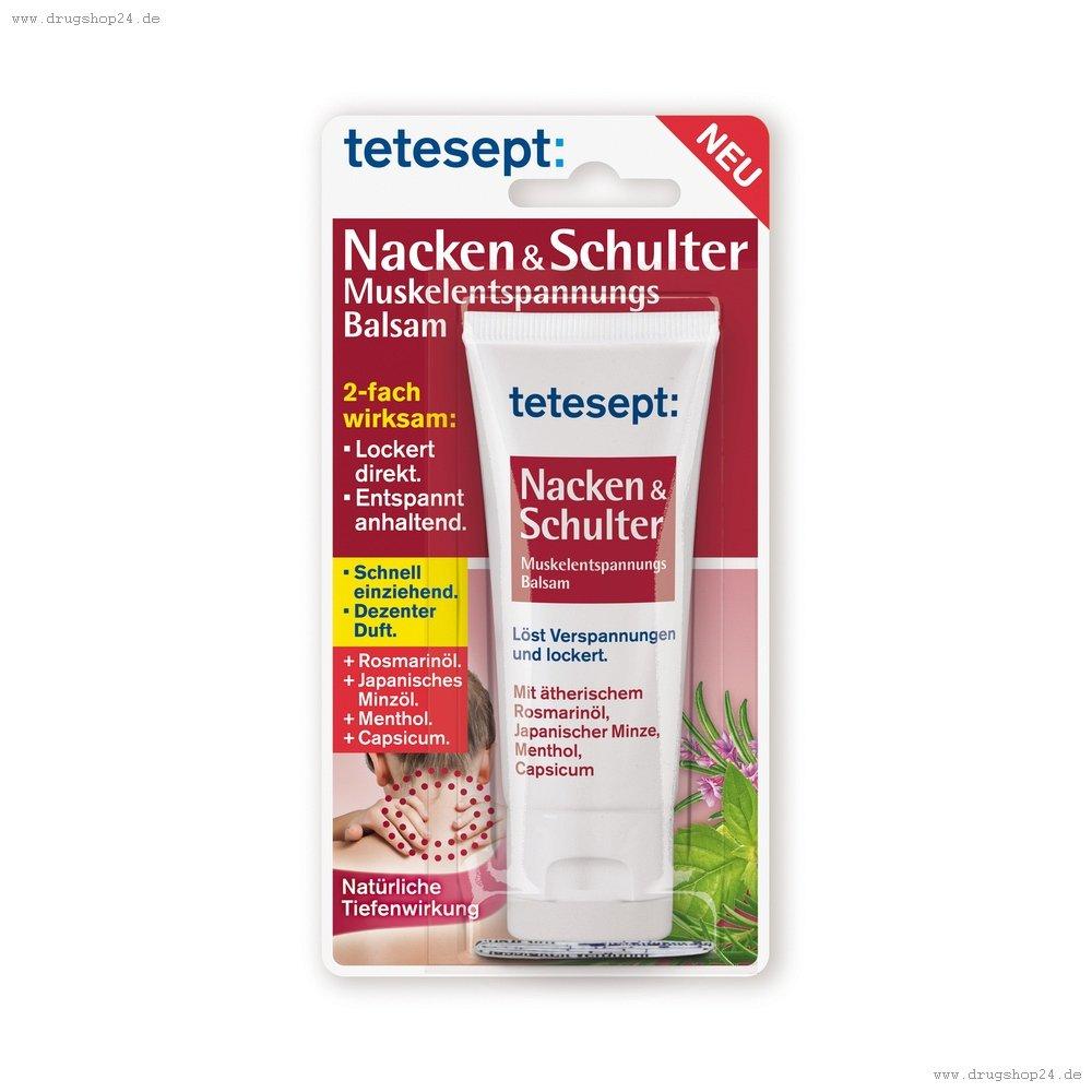 Tetesept Nacken- und Schulter Entspannungs Balsam, 35 ml: Amazon.de ...