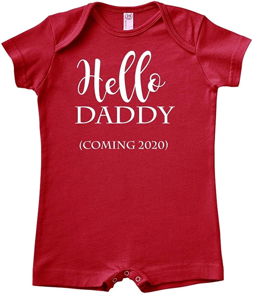 Announcement Coming 2020 Hello Daddy Baby Romper