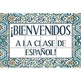 Bienvenidos a la clase de español Poster
