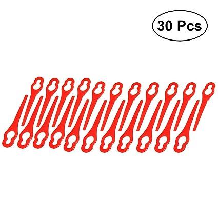 OUNONA - Cuchillas de recambio para cortacésped de césped (30 unidades)