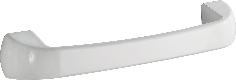 WENKO 19900100 Badewannengriff Pure, Kunststoff - ABS, 28.5 x 5 x 6.5 cm, Weiß Weiß