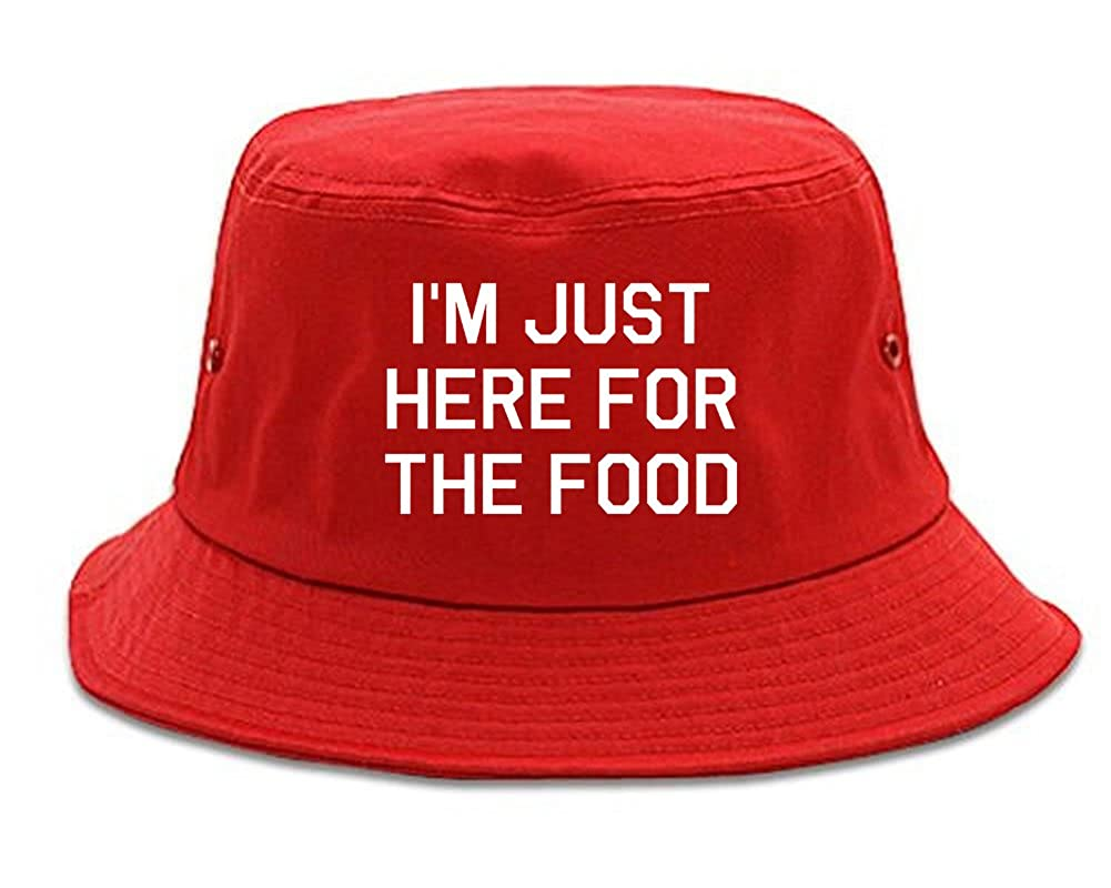 Im Just Here For The Food Bucket Hat 1FIGBULKBH-1397