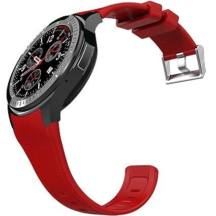 Amazon.com: Walmeck DM368 Smart Watch 3G WCDMA Watch Phone ...