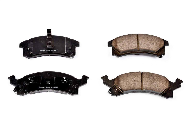 Power Stop 16-320 Z16 Evolution Front Ceramic Brake Pads