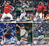 Texas Rangers 2018 Topps Complete Mint Hand Collated 21 Card Team Set with Elvis Andrus, Joey Gallo and Adrian Beltre plus