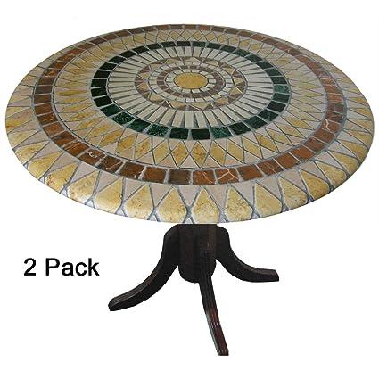 Amazon.com: TableMagic - 2 manteles de vinilo (manteles y ...