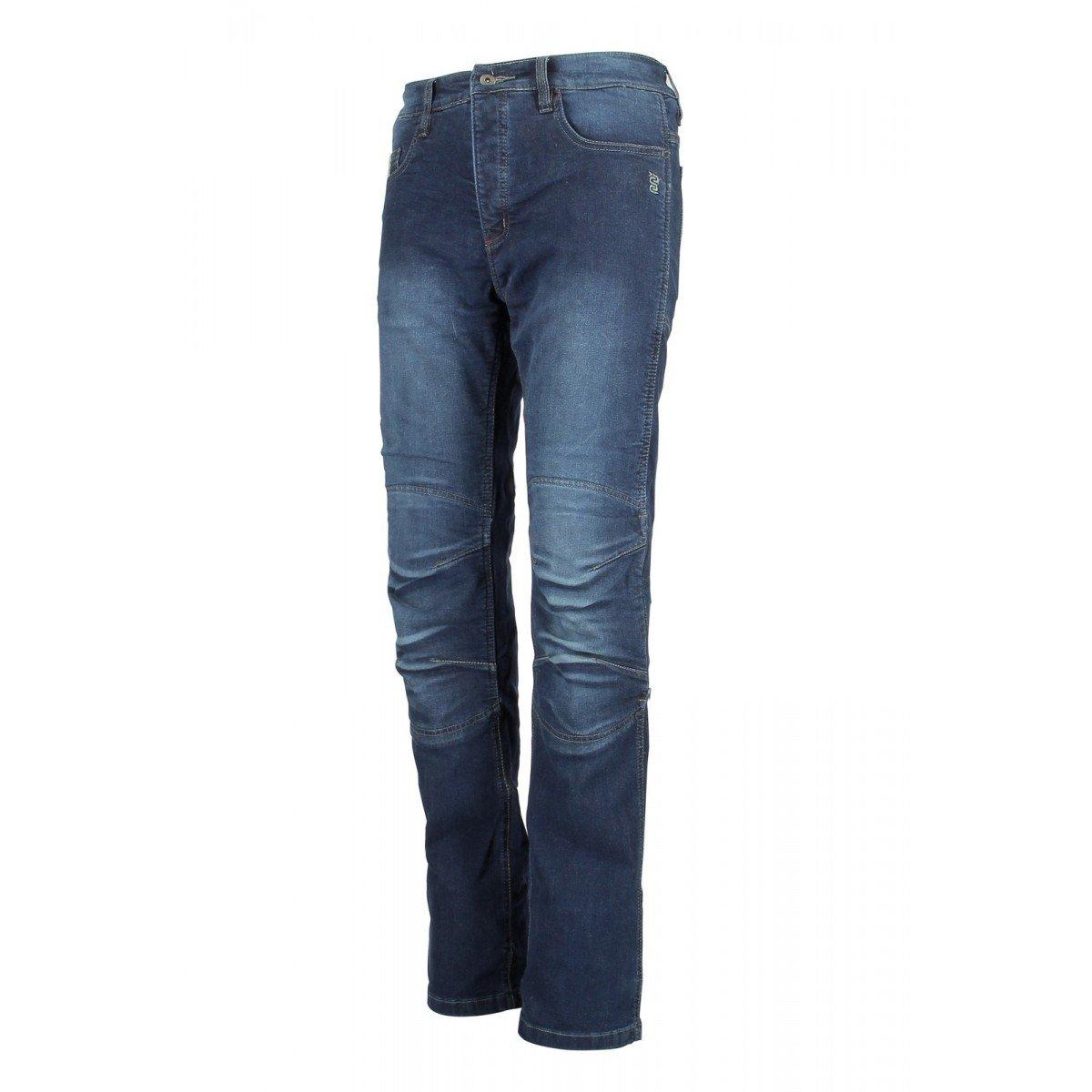 Blu OJ Jeans 4 Stagioni Impermeabile Tessuto Esterno in Denim Elasticizzato Bluster Man 50