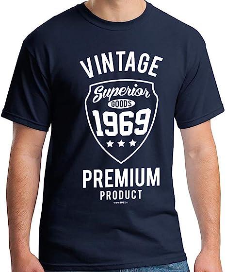 50th Birthday Gifts 50 cumpleaños Hombre Vintage Premium Camiseta