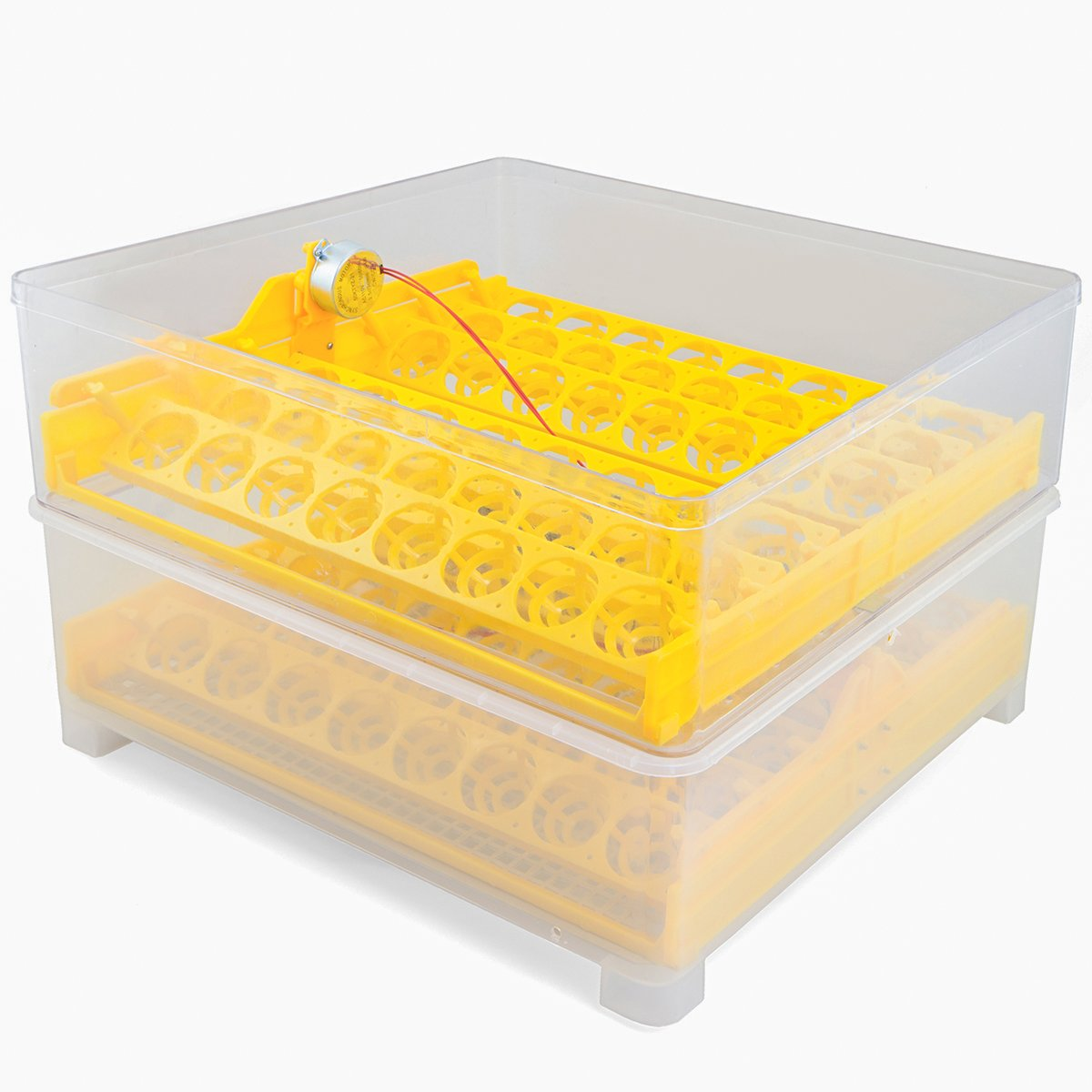 XtremepowerUS Egg Incubator 96 Eggs 2 Layer Digital Control Panel Poultry Hatcher Auto Egg Turner by XtremepowerUS (Image #3)