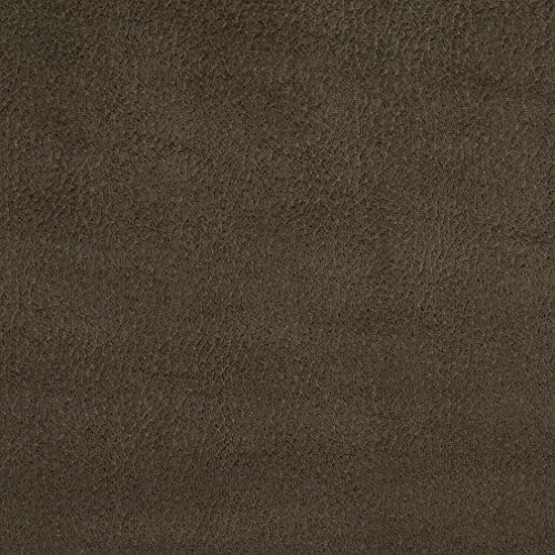 Charcoal Gray Silver Plain Solid Microfiber Microsuede Upholstery Fabric by the yard