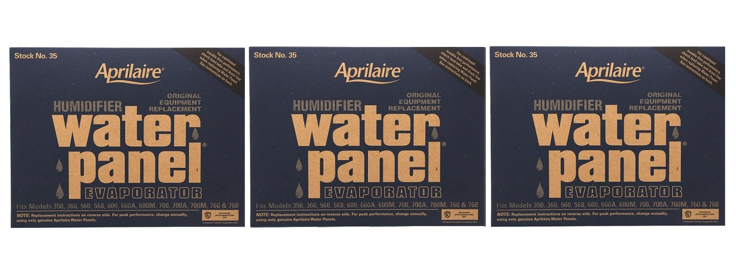 Aprilaire 35 Water Panel 3 Pack For Humidifier Models 350 360 560