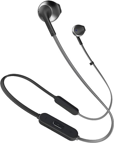 Jbl T205bt Pure Bass Wireless Metal Earbud Headphones Amazon Co Uk Electronics