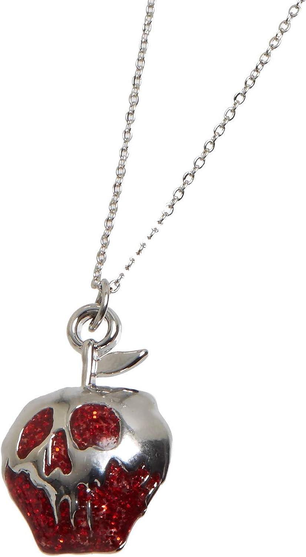 Disney Villains Evil Queen Poison Apple Dainty Necklace