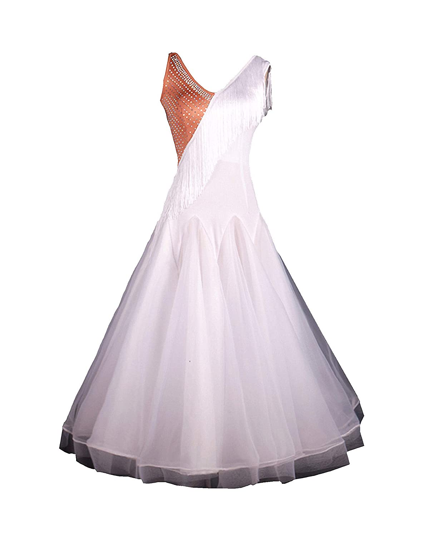 SIQIAN DRESS レディース ホワイト Large