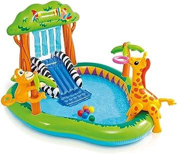 Intex Jungle Play Center - Piscina hinchable con pulverizador ...