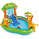 Intex Jungle Play Center Inflatable Pool with Sprayer