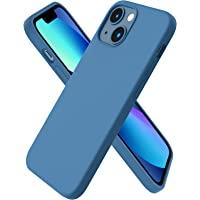ORNARTO Kompatybilne z iPhone 13 Mini etui, smukły płynny silikon 3 warstwy pełne pokrycie miękka guma żelowa z etui z…
