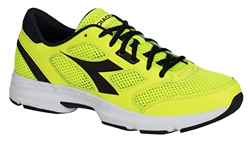 Running Scarpa 7 Sneaker Yellowblack Fl Diadora Jogging Shape Uomo a54nqx