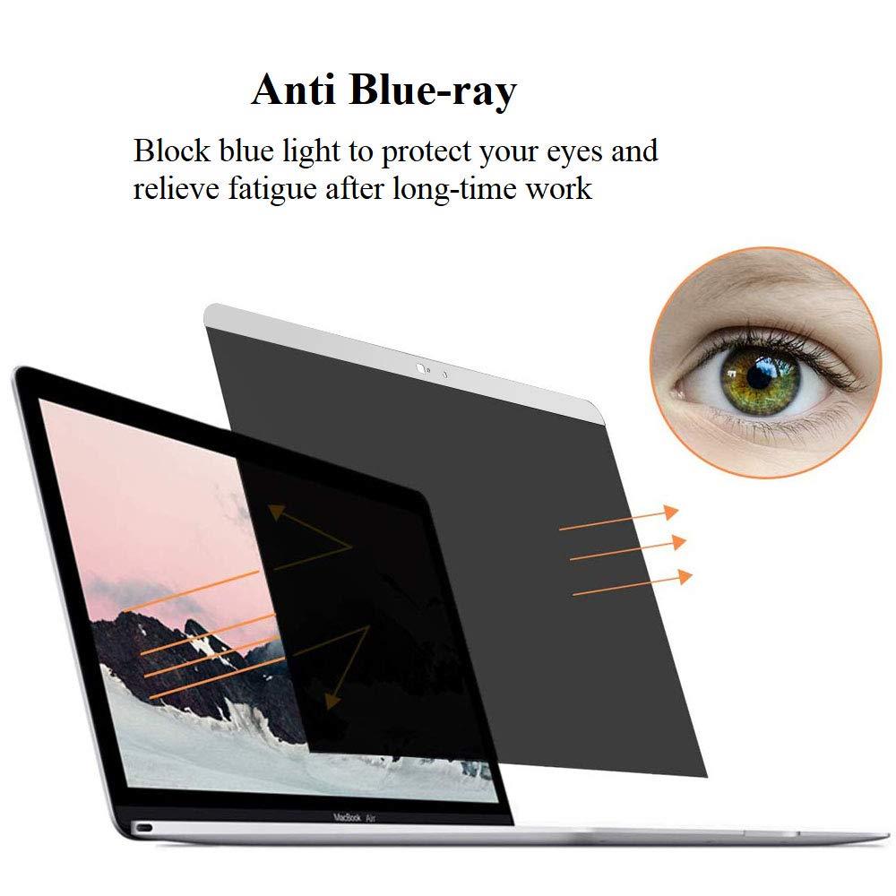 Webcam Cover Slider 2016-2019 Pantalla de Privacidad Filtro eliminaci/ón f/ácil Filter Film para MacBook Pro 15 KONEE Magn/ético Filtro de Privacidad Compatible con MacBook Pro 15