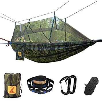 Hamac Moustiquaire De Camping Voyage Double Portable Respirante à
