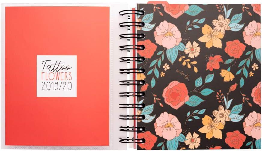 Agenda escolar 2019/2020 día página M Tatto: Amazon.es: Oficina y ...