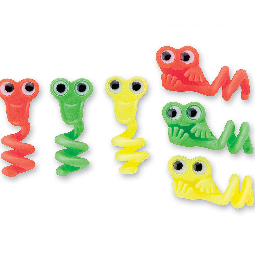 Wiggle Eye Pencil Toppers - 72 per pack by SmileMakers (Image #1)