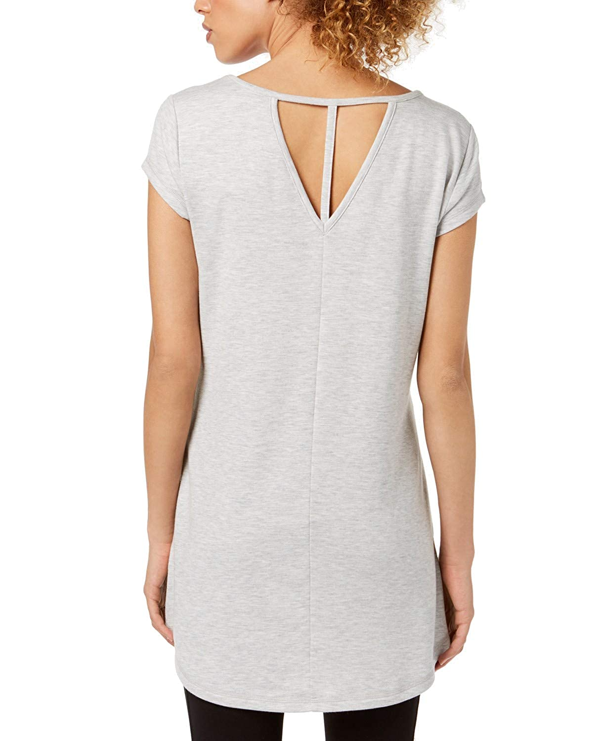 Ideology Womens Yoga Active Tunic Top 100022322